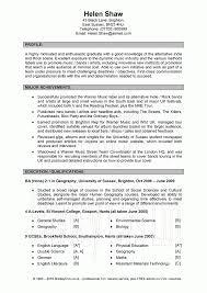 Resume Examples Uk General Resume Examples General Cv Examples Uk Resume Sample For 4