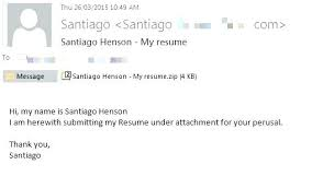 Sample Email To Send Resume And Cover Letter How Via Sending Body