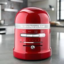 kitchenaid red toaster target 4 slice empire artisan kmt423 s metal