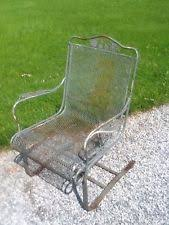 metal lawn chairs. Brilliant Metal Vintage Ornate Heavy Metal Lawn Chair  Very Good To Chairs EBay