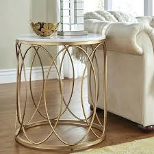 good marble end tables house interiors round gold end table with marble top by inspire q bold marble coffee tables interior
