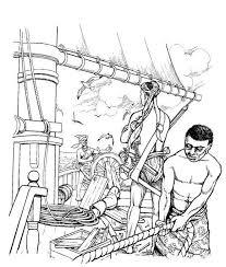 Kleurplaten En Zo Kleurplaat Van De Slaven Hebben Het Schip