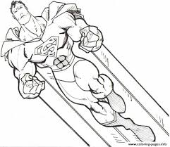 Small Picture SUPERMAN Coloring Pages Free Printable