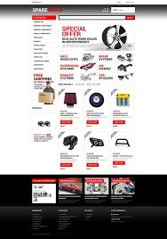 auto parts website template auto parts store prestashop template 50616