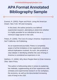 Annotated Bibliography   ENGL       Expository Writing   Guides at     Purdue Online Writing Lab   Purdue University
