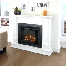 sears electric fireplace logs white tv stand