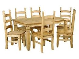 pine dining room sets. Unique Dining Image Is Loading CoronaMexicanPineDiningSet6FTTableand And Pine Dining Room Sets A
