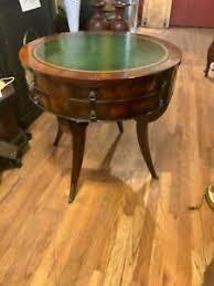 Favorite add to early 19th century antique regency solid mahogany tilt top round tea table schearbrothers. Antique Leather Top Table Products For Sale Ebay