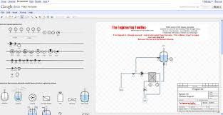 p id diagram online drawing tool p id diagram online drawing template