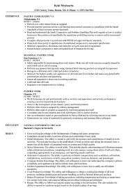 Pastry Cook Resume Samples Velvet Jobs