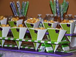 purple and green baby shower decorations. katy\u0027s baby shower green and purple decorations .