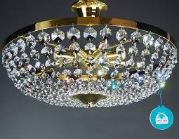 Details Zu Kronleuchter Deckenleuchter ø50cm 8 Leuchten Spectra Crystal Von Swarovski