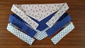 dog s bandana free pattern and tutorial my golden thimble