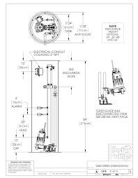 liberty pump distributor pump products dimensional drawings 3 brochure and installation instructions