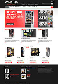 Vending Machine Website Inspiration Vending Machines Website Templates WordPress Template 48