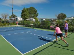 pickleball court size pickleball courts rules tournaments golden village palms