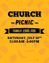 Picnic Flyers Church Picnic Ministry Flyer Template Flyer Templates