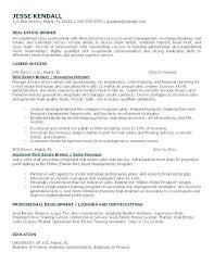 Real Estate Agent Resume Fascinating Entry Level Real Estate Agent Resume Awesome Estate Agents Resume