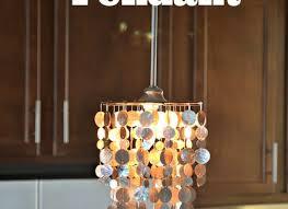 how to make a capiz chandelier