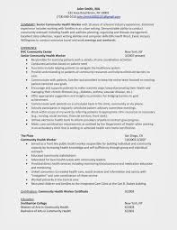 Sample Resume Sample Resume Community Health Worker Winning Answers to 100 94