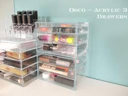 muji drawer organizer f transpa acrylic makeup storage muji 5 drawer acrylic storage cases uk