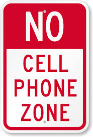 No Cell Phone Signs Design Online Free Shipping Smartsign