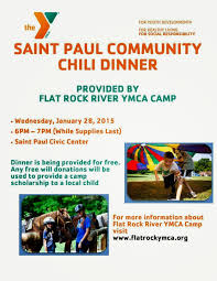 chili supper flyer st paul community chili dinner 2015 01 28