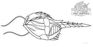 Bakugan Coloring Pages 1537