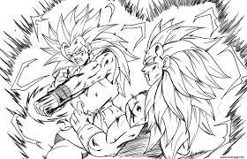 Coloriage Dragon Ball Z 23 Dessin
