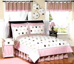 queen size kids bedding details about pink brown modern polka dot girl kid teen full