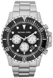 michael kors men s mk8256 everest silver watch bossman watches michael kors men s mk8256 everest silver watch