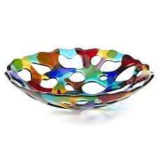 Decorative Glass Balls For Bowls 100 best Decorative Plates Platters Bowls Trays Balls Orbs 89