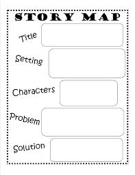Story Map Template Story Map FREE Printable Reading Writing Kids Ela Pinterest 3