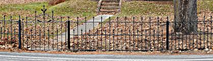 wrought iron fence victorian. And After The Restoration\u2026 Victorian Garden Gate Restoration. Wrought Iron Fence I