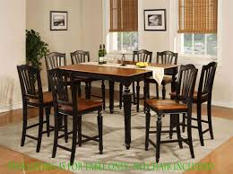 Bar Height Kitchen Table Set Stylish Counter Height Kitchen Table Sets With Storage Picture