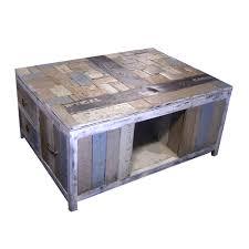 rustic coffee table large cof1