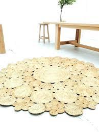 round rugs 8 foot 4 natural fiber rug designs area feet pad