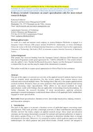 Lit Review Example Apa Literature Review Outline Example Apa Examples Discover Best