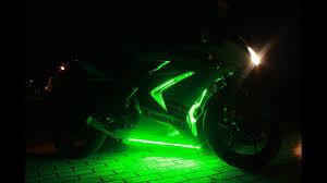 Led Lights For Ninja 250r Kawasaki Ninja 250r Underglow Leds Youtube