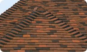 heritage clay roof tiles black pigment mortar