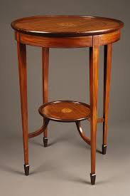 a5317a antique lamp table round1
