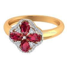 Ruby Stone Gold Ring Design 100 Natural Diamond 14k Yellow Gold Ruby Stone Ring Floral Design For Wedding Wear Buy Gold Diamond Ring Stone Ring Ring Product On Alibaba Com