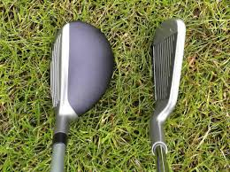 Hybrid Golf Club Degree Chart Hybrid Golf Club Distances Compared To Irons