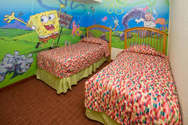 Spongebob Bedroom Decorations Kids Want To Stay Here The Best Themed Hotel Rooms In The Us