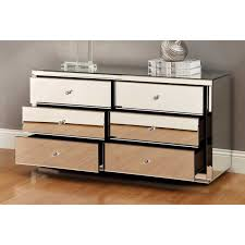 vegas white glass mirrored bedside tables. Simple Glass Mirrored Chest Of Drawers 6  Vegas Drawer Dressing Table Or Low  Chest Mirror To White Glass Bedside Tables