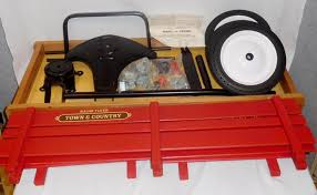 1993 Radio Flyer Model No 24 Town And Country Wagon Unbuilt