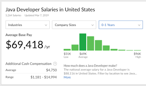 an entry level java developer salary in united states glassdoor