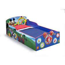 Mickey Mouse Clubhouse Bedroom Furniture Delta Children Mickey Mouse Toddler Bed Reviews Wayfair
