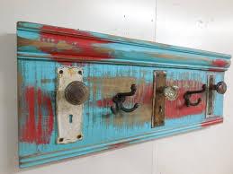 Knob Coat Rack Inspiration Architectural Salvage Coat Rack Primitive Coat Rack Antique Etsy