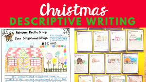 gingerb house writing activity for middle school eb academic  a fun and challenging christmas descriptive writing activity for your middle school english language arts